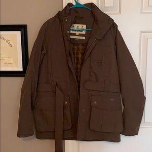 Barbour Belted Waterproof Jacket